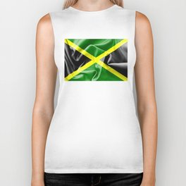 Jamaica Flag Biker Tank
