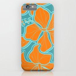 Kailua Hibiscus Hawaiian Engineered Floral iPhone Case