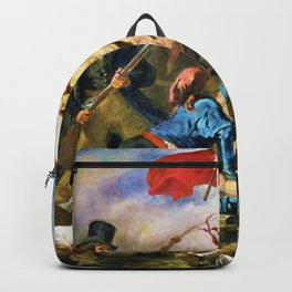 Liberty Leading The People - Digital Remastered Edition Backpack
