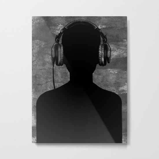 music lover Metal Print
