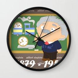 Albert Einstein Wall Clock