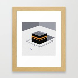 Kaaba Framed Art Print