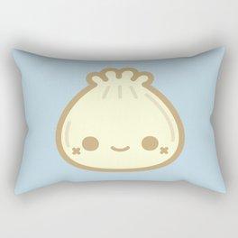 Yummy cute steamed bun Rectangular Pillow
