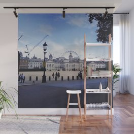 Whitehall horse guards. Wall Mural