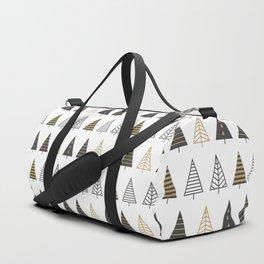 MODERN CHRISTMAS TREES Duffle Bag