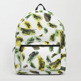 Coloured Falling Feathers Backpack