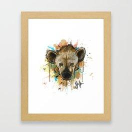 Spotted Hyena Framed Art Print