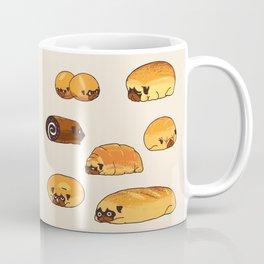 Bread Pugs Coffee Mug