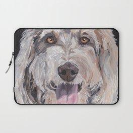 Golden Doodle Art,  Labradoodle art, Doodle dog art Laptop Sleeve