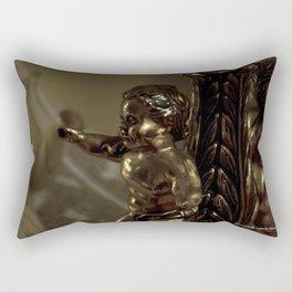 Antique angel Rectangular Pillow