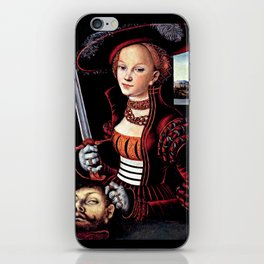 Judith with the Head of Holofernes iPhone Skin