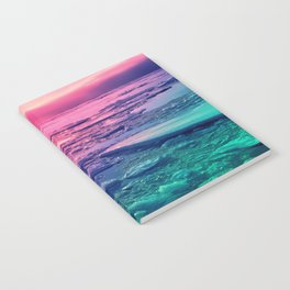Pastel Sunset Waters Notebook