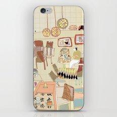 ---garden--cafe--- iPhone Skin