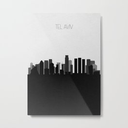 City Skylines: Tel Aviv Metal Print