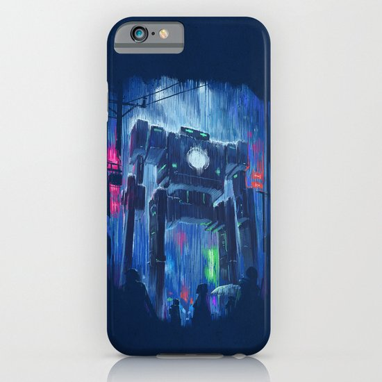 Impressionist Robot iPhone & iPod Case