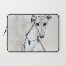 The Greyhound Wearing His Thorn Laptop Sleeve