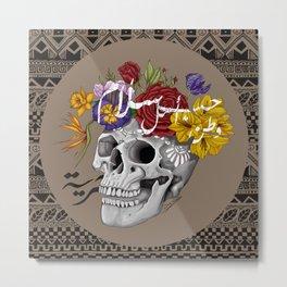 Skull of Life Metal Print