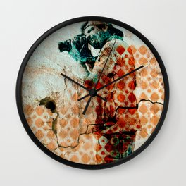 Hostage Wall Clock