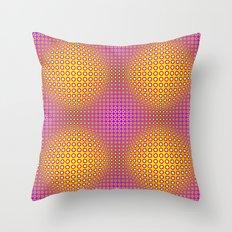 Vasarely style Throw Pillow