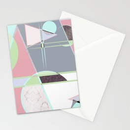 Italian 80's scandinavian style Stationery Cards