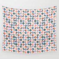 pills Wall Tapestries featuring Serenity pills by Alexandra Aguilar
