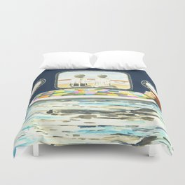 Realm of Comfort Duvet Cover