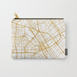 SAN JOSE CALIFORNIA CITY STREET MAP ART Carry-All Pouch
