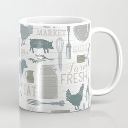 Modern Farmhouse // Gather Round & Give Thanks Coffee Mug