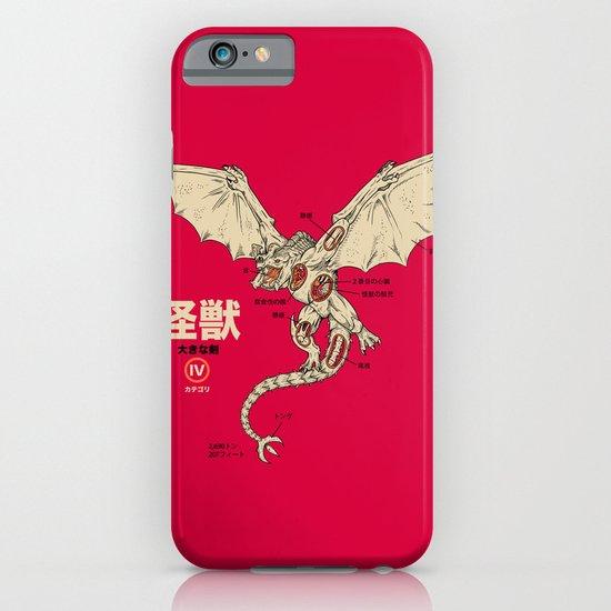 Kaiju Anatomy 2 iPhone & iPod Case