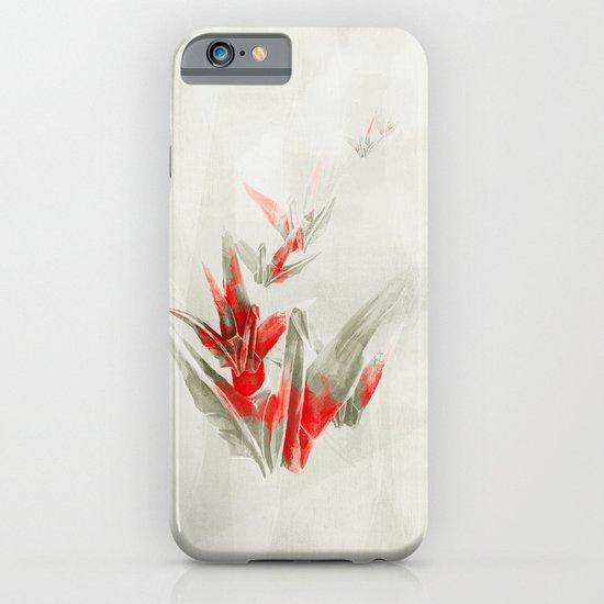 Paper Cranes iPhone & iPod Case