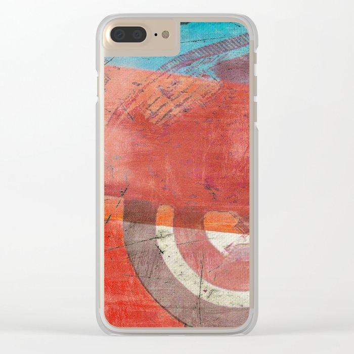 Di Lambretta a Milano (Lambretta in Milan) Clear iPhone Case