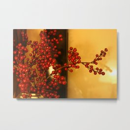 All the red berries Metal Print