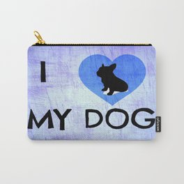 I Luv My Dog Carry-All Pouch