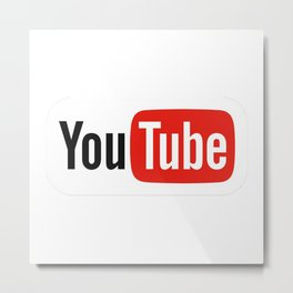 Youtube 2015 Logo Metal Print