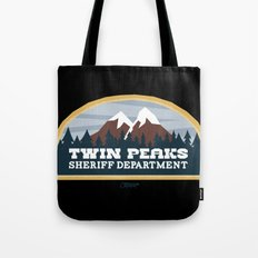 Twin Peaks Sheriff Department (Redux) Tote Bag