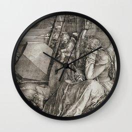 Albrecht Durer - Melancholia Wall Clock