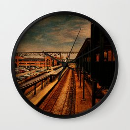 Poughkeepsie Train Station Wall Clock