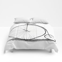 Penny-farthing. Comforters