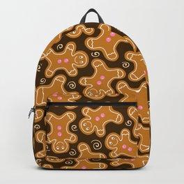 Gingerbread Men Pattern Backpack