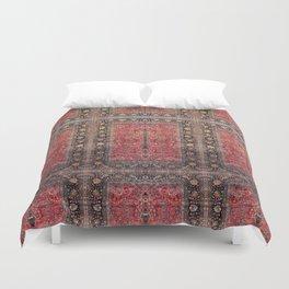 Antique Persian Red Rug Duvet Cover