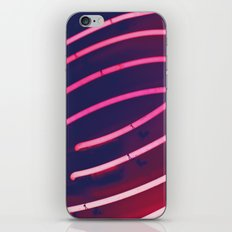 Pink Neon iPhone & iPod Skin