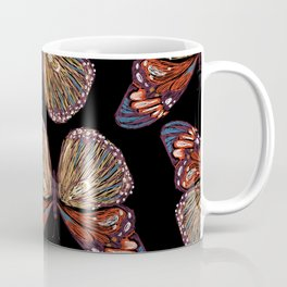 butterfly embroidery Coffee Mug