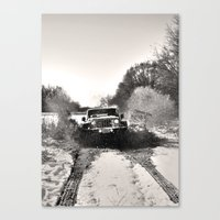 adventure is out there Canvas Prints featuring Adventure  by ChandalC