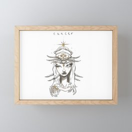 Cancer Framed Mini Art Print