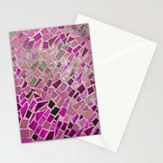 Little Pink Tiles Stationery Cards
