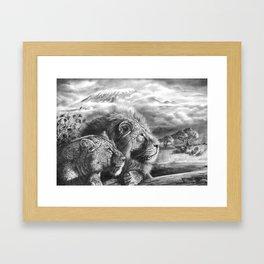 The Snows of Kilimanjaro Framed Art Print