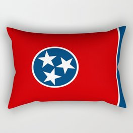 Tennessee State flag Rectangular Pillow