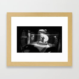 One of Those Days Framed Art Print