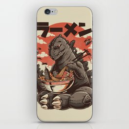 Kaiju's Ramen iPhone Skin