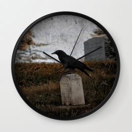 Hometown Crow Wall Clock